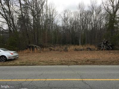 Charles County Residential Lots & Land For Sale: Mason Springs Road