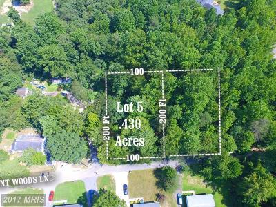 Hughesville Residential Lots & Land For Sale: 6500 Patuxent Woods Lane