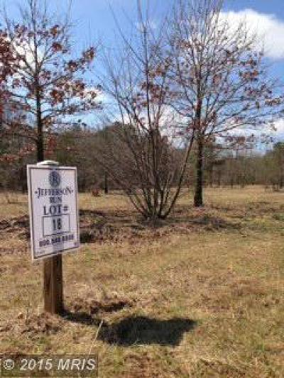 Caroline County Residential Lots & Land For Sale: 5 Jefferson Pond Road