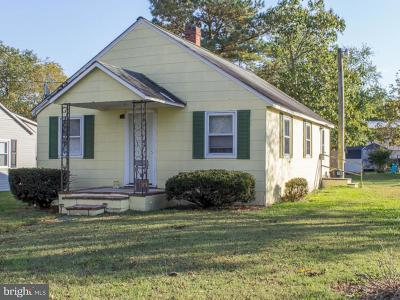 Caroline County Single Family Home For Sale: 23819 Griffith Road