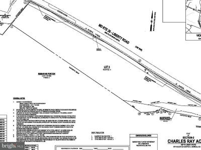 Carroll County Residential Lots & Land For Sale: 1537 Liberty Road