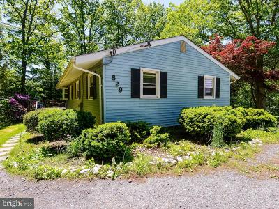 Sykesville Single Family Home For Sale: 829 Streaker Road