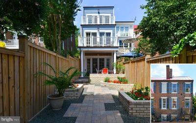 Alexandria City, Arlington County Townhouse For Sale: 214 Lee Street S