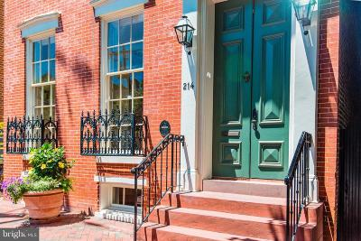 Alexandria City, Arlington County Townhouse For Sale: 214 Royal Street N
