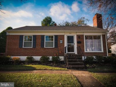 Reisterstown Single Family Home For Sale: 830 Ivydale Avenue