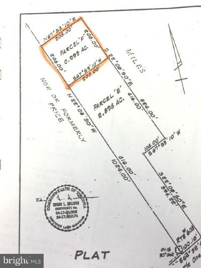 Spotsylvania Residential Lots & Land For Sale: Massaponax Church Road
