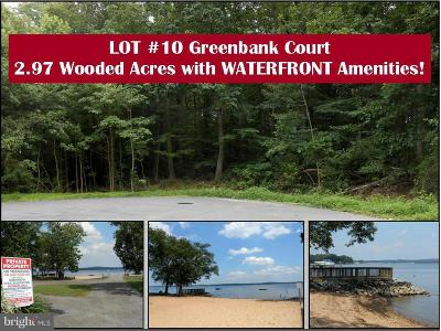 Perryville, Port Deposit Residential Lots & Land For Sale: Greenbank Court