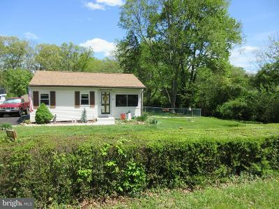Elkton Single Family Home Under Contract: 92 Middle Road