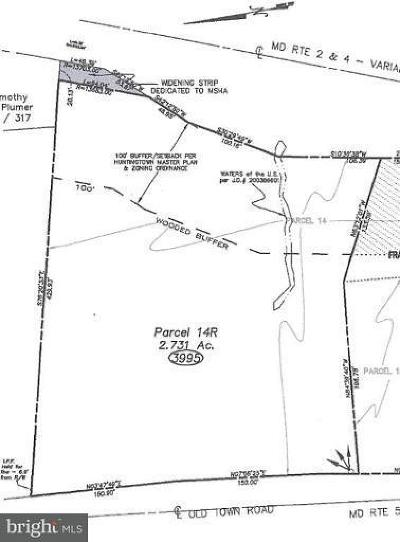 Calvert County, Saint Marys County Residential Lots & Land For Sale: 3995 Old Town Road