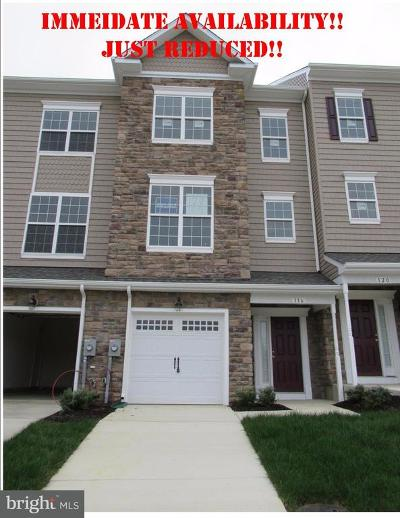 Prince Frederick Townhouse For Sale: 116 Clydesdale Lane