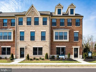 Falls Church Townhouse For Sale: 3753 Signal Knob Court