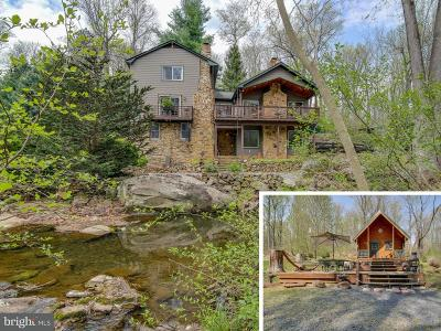 Rappahannock County Single Family Home For Sale: 54 Mill Hill Road