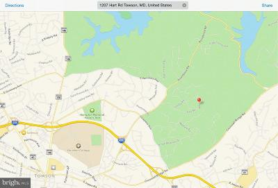 Towson Residential Lots & Land For Sale: 1207 Hart Road