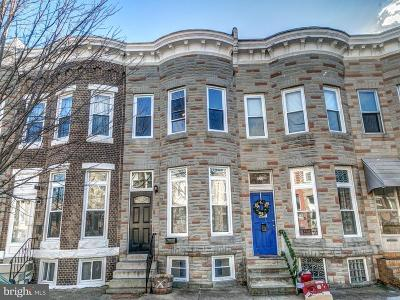 Hampden, Hampden Hon!! Townhouse For Sale: 823 35th Street W