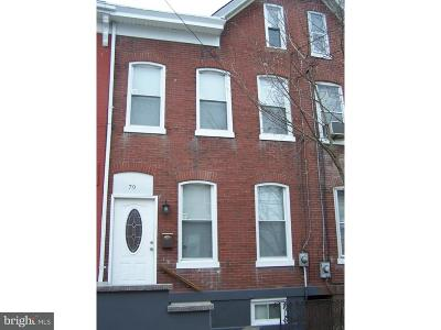 Trenton Townhouse For Sale: 79 Grand Street