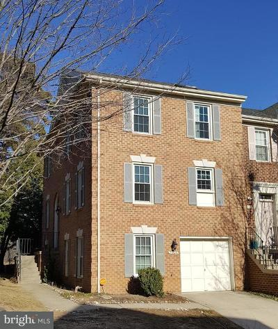 Fairfax County, Stafford County, Prince William County Townhouse For Sale: 7420 Salford Court