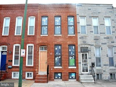 Canton, Canton Company, Canton Cove, Canton East, Canton, Patterson Park, Canton/Brewers Hill, Canton/Lighthouse Landing Townhouse For Sale: 2927 Dillon Street