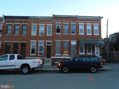 Townhouse For Sale: 1809 Presbury Street