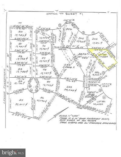 Basye Residential Lots & Land For Sale: Dogwood-Lot 287-Section 10- Drive