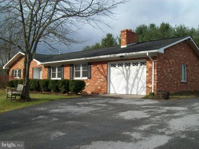Shenandoah County Single Family Home For Sale: 4995 Fort Valley Road