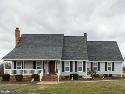 Rockingham County Single Family Home For Sale: 2215 Mauzy Athlone Road