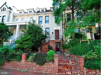 Washington DC Townhouse For Sale: $2,185,000