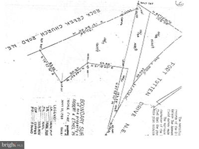Residential Lots & Land For Sale: 5016 Rock Creek Church Road NE