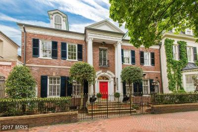Single Family Home For Sale: 3306 O Street NW