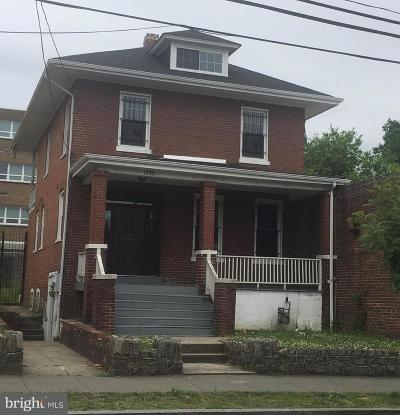 Anacostia Single Family Home Active Under Contract: 1435 Good Hope Road SE