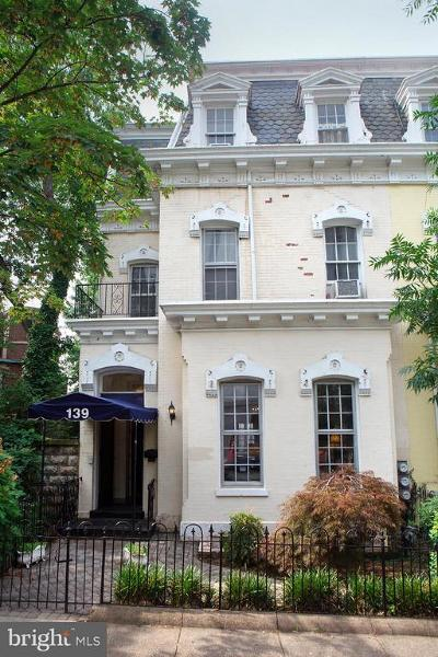 Townhouse Under Contract: 139 C Street SE
