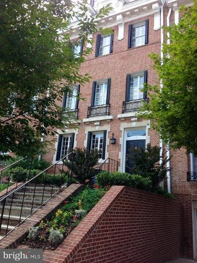 Washington Townhouse For Sale: 2127 Leroy Place NW