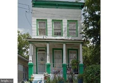 Single Family Home For Sale: 2522 West Street SE