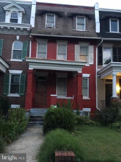 Ledroit Park Single Family Home For Sale: 20 Bryant Street NW