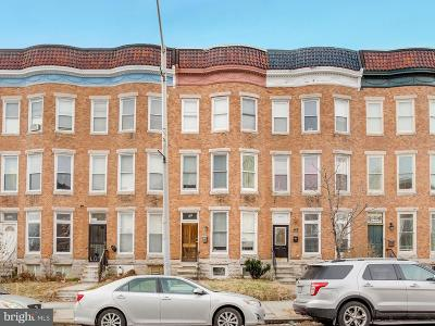 Baltimore Single Family Home For Sale: 2640 Charles Street N