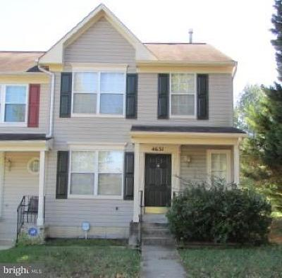 Upper Marlboro Townhouse For Sale: 4631 Penzance Place