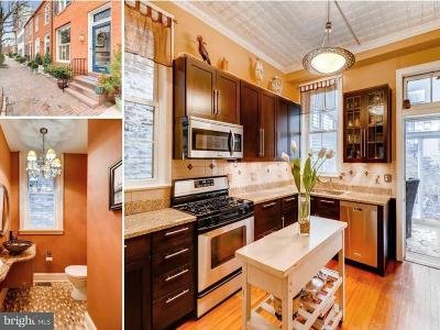 Baltimore Townhouse For Sale: 115 Montgomery Street