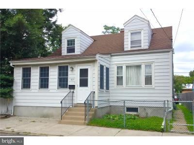 Trenton NJ Single Family Home For Sale: $132,000