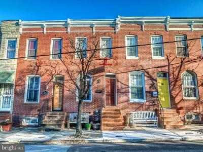 Baltimore MD Townhouse For Sale: $315,000