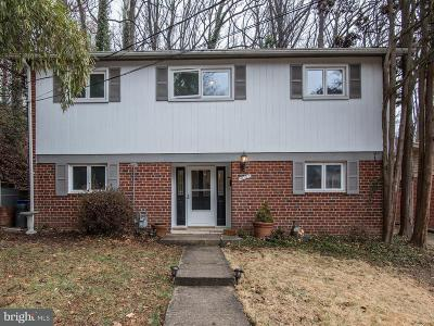 Chevy Chase Single Family Home For Sale: 4007 Woodlawn Road