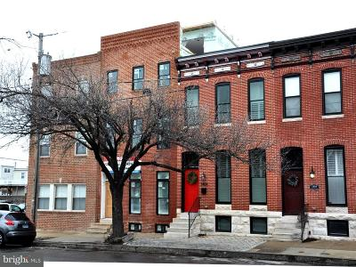 Canton, Canton Company, Canton Cove, Canton East, Canton, Patterson Park, Canton/Brewers Hill, Canton/Lighthouse Landing Townhouse For Sale: 3402 Toone Street