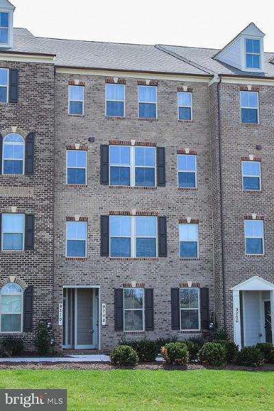 Frederick Townhouse For Sale: 9208 Landon House Way