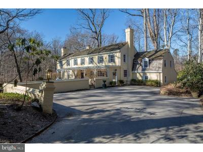 Bryn Mawr Single Family Home For Sale: 418 Gatcombe Lane