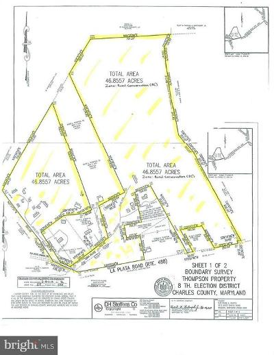 Waldorf Residential Lots & Land For Sale: La Plata Road