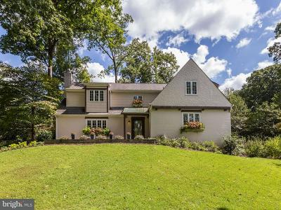Bethesda Single Family Home For Sale: 4501 Wetherill Road