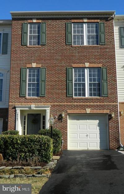 Virginia Oaks Townhouse For Sale: 8087 Montour Heights Drive