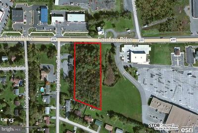 Stephens City Commercial For Sale: 277 Fairfax Pike