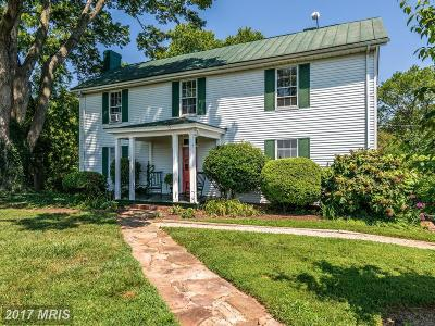 Culpeper County Single Family Home For Sale: 16401 Ryland Chapel Road