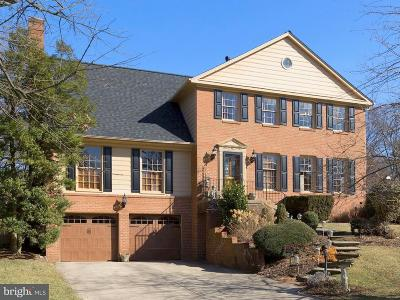 rockville Single Family Home For Sale: 7103 Old Gate Road