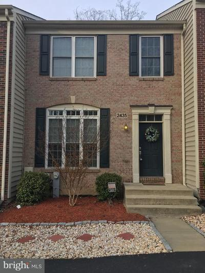 Odenton Townhouse For Sale: 2435 Killarney Terrace