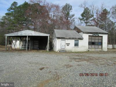 Caroline County Commercial For Sale: 18520 Passing Road